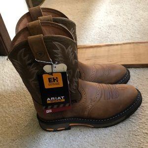 Ariat work boots NEW Men's 7D